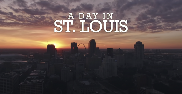 St. Louis skyline image