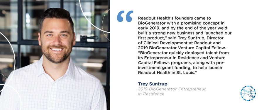 BioGenerator EIR Trey Suntrup, Readout Health