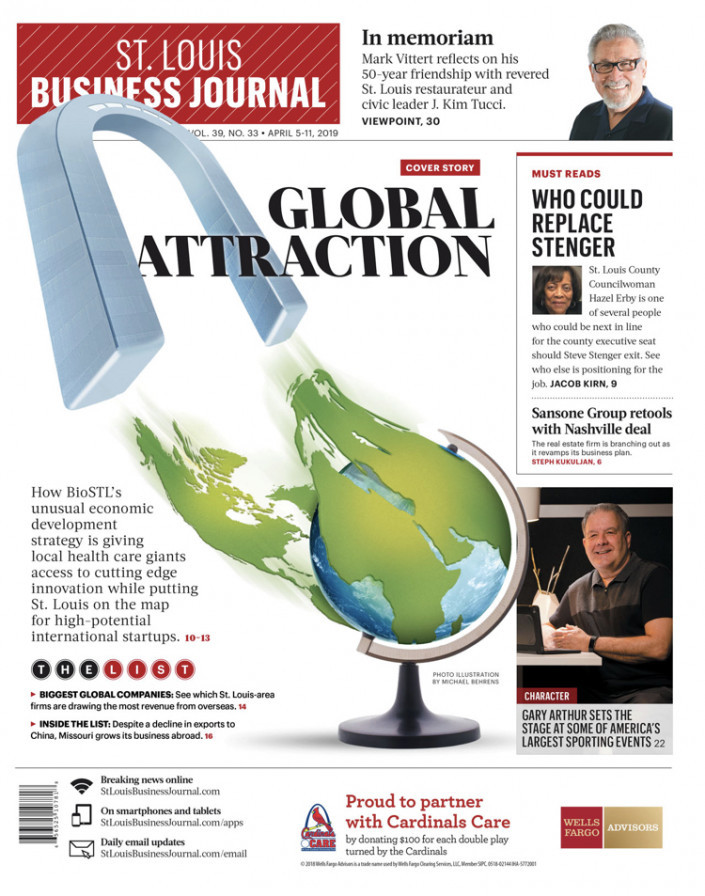 Cover image from STLBJ