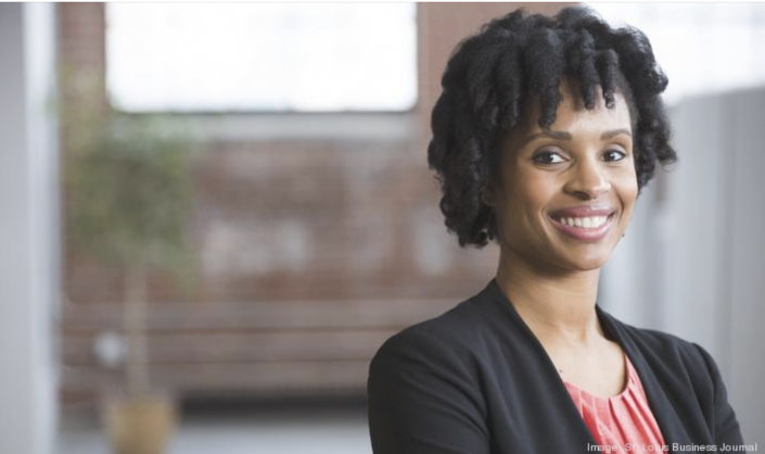 Lindsey Harrison, photographed by the St. Louis Business Journal
