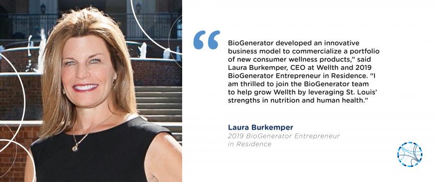 BioGenerator EIR Laura Burkemper, WELLTH Holdings
