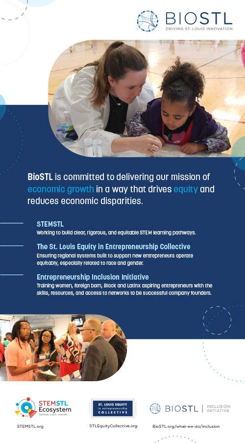 BioSTL Ad for St. Louis American