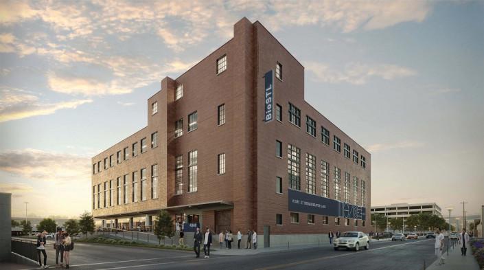 BioSTL Headquarters rendering