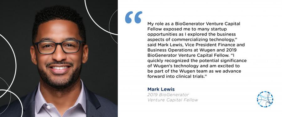 BioGenerator VC Fellow Mark Lewis, Wugen
