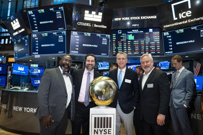 BHIL on New York Stock Exchange