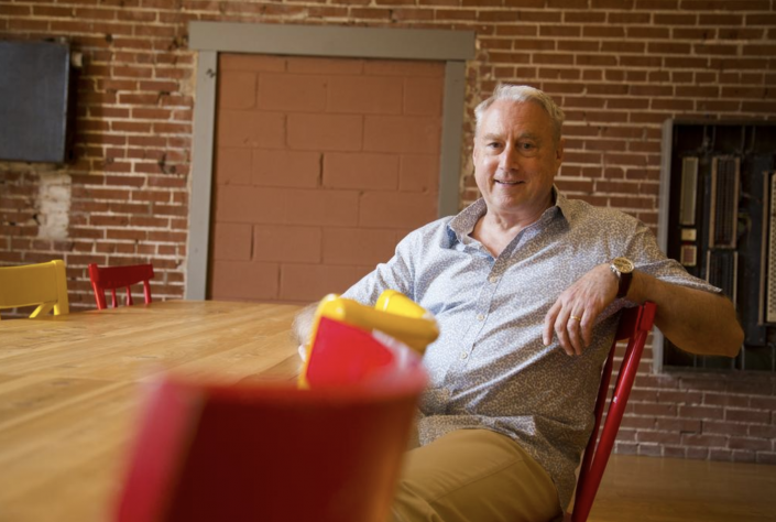 Harry Arader, Grants to Business Program Director, photographed by the St. Louis Business Journal