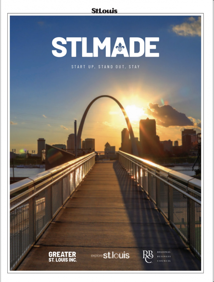 STLMade Magazine cover